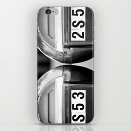 Meters iPhone Skin