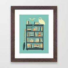 Potter Shelf | Rowling Framed Art Print