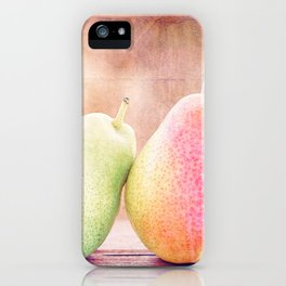 LOVING PEARS iPhone Case