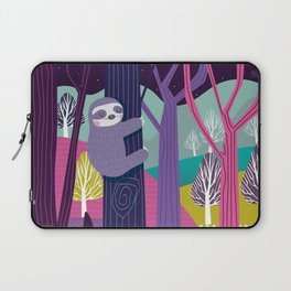 Sloth in the woods Laptop Sleeve