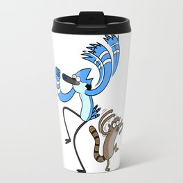Mordecai & Rigby - Regular Show Travel Mug