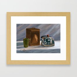 Tea Time DP170331a-14 Framed Art Print