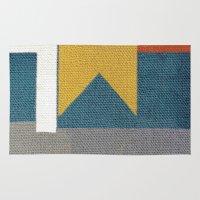libra Area & Throw Rugs featuring Libra by Fernando Vieira