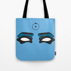 Watch this Doctor Manhattan Tote Bag