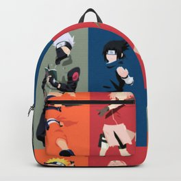 Team 7 with Kakashi Backpack