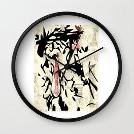 Lady of Paris by Jag Wall Clock