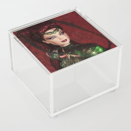 Chica Alienigena Acrylic Box