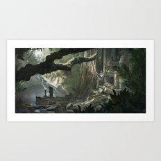 La Jungle Art Print