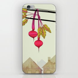 Beets in the Hood iPhone Skin