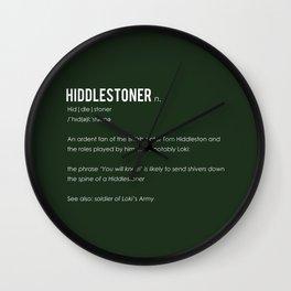 Hiddlestoner Wall Clock