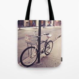 Bicycles of New York City Tote Bag