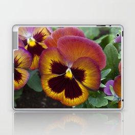 Pansy Painted Laptop & iPad Skin