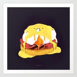Egg Benedict Art Print