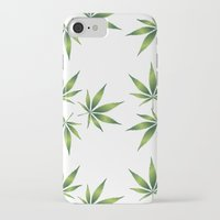 marijuana iPhone & iPod Cases featuring Marijuana Leaves  by Limitless Design