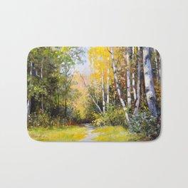Birch Grove # 3 Bath Mat