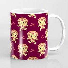 Cute running pizza slice Coffee Mug