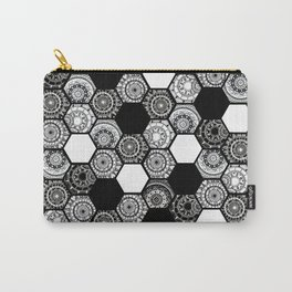 Mandala Tiles Carry-All Pouch
