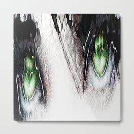 Teardrops in the rain Metal Print