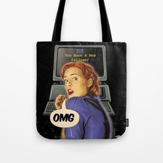 You Have a New Follower Tote Bag