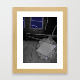 Overnight Framed Art Print