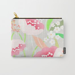rapture: abstract floral. Carry-All Pouch