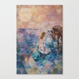 The Secret Seekers Canvas Print