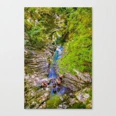 Gulch Canvas Print