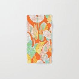 Lush Lily - orange zest Hand & Bath Towel
