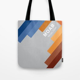 The colors of climbing spots - MOAB Tote Bag