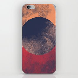 Orange and Red Ven iPhone Skin