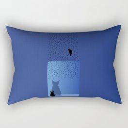 star cat Rectangular Pillow