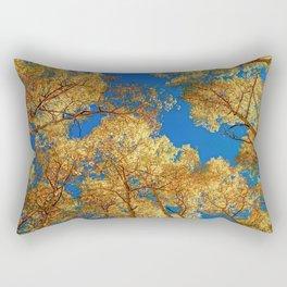 Colorado Autumn Sky Rectangular Pillow