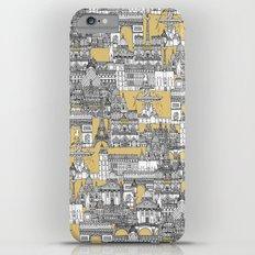 Paris toile gold iPhone 6 Plus Slim Case