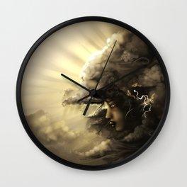 The Stormqueen Wall Clock
