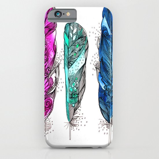 dream feathers 2 iPhone & iPod Case