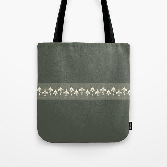 La jupe et le béret Tote Bag