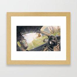 Passenger Framed Art Print