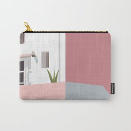 Postcard in pink Carry-All Pouch