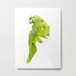 Parrot art Southern mealy amazon parrot Metal Print