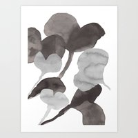 Autumn flowers 5 Art Print
