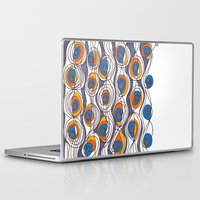 peacock Laptop & iPad Skins featuring peacock by colli13designs