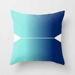 From Start To Finish Throw Pillow