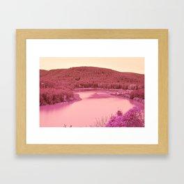 Nature went swimming VII Framed Art Print
