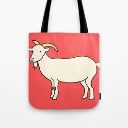 Cutie Goatie Tote Bag