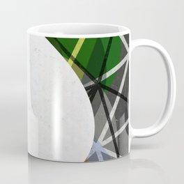 White Noise - Abstract Art Coffee Mug