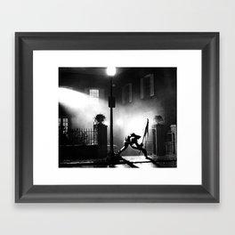 Exorcist Calling Framed Art Print