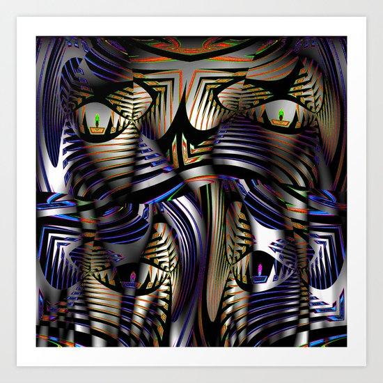 M A S K ? Art Print