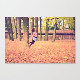 Because I'm Free Canvas Print
