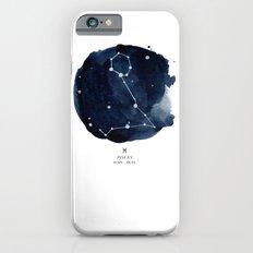 Zodiac Star Constellation - Pisces Slim Case iPhone 6