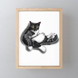 Mr. Gizzy Framed Mini Art Print